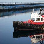 Tugboat at Ogden Point. Photography by Adele J. Haft, adelehaft@gmail.com