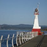 Lighthouse on Ogden Point Breakwater. Photography by Adele J. Haft, adelehaft@gmail.com