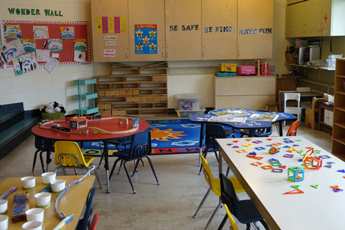 James Bay Community Centre Out of School Care Space