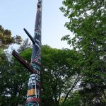 Totem Pole in Beacon Hill Park. Photo © Adele Haft