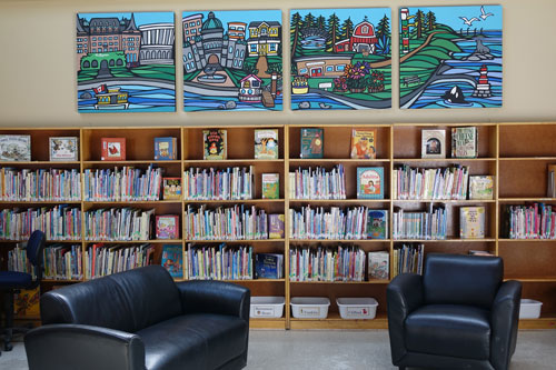 James Bay Community Centre Library
