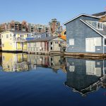 Float Houses at Fisherman's Wharf. Photography by Adele J. Haft, adelehaft@gmail.com